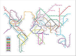 the metro map edward tufte forum underground maps worldwide subway maps