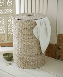 double laundry hamper with lid round laundry hamper for home decor u2014 sierra laundry