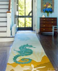Entry Rug Runner Coastal Nautical Runner Rugs That Make An Entry Shop The Look
