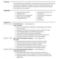 Creating The Best Resume Administrator And Office Manager Resume Samples To Help You Create