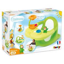 siege de bain smoby cotoons siège de bain vert smoby king jouet activités d éveil