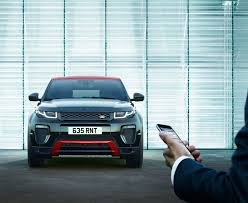 range rover dark green updated 2017 range rover evoque gains more tech and new ember