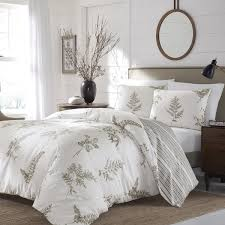 Overstock Duvet Stone Cottage Willow Duvet Cover Set Free Shipping Today