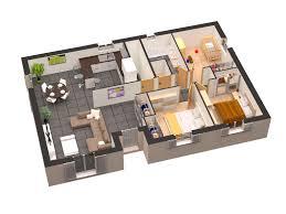 logiciel chambre 3d ausgezeichnet chambre en 3d gratuit plan maison plain pied 3d