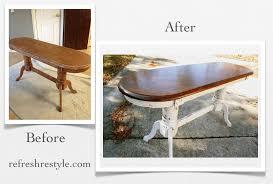 Oak Sofa Table Oak Sofa Table Makeover Mms Milk Paint Refresh Restyle