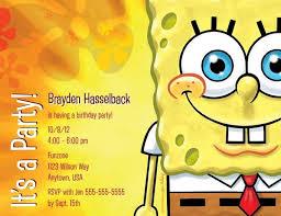 12 best sponge bob invitations images on pinterest sponge bob