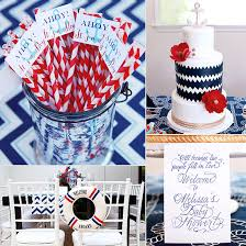 Red Baby Shower Themes For Boys - ahoy it u0027s a boy nautical blue and red baby shower baby showers