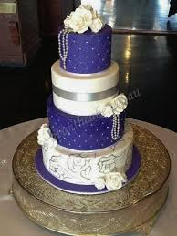 wedding cake royal blue royal blue and silver wedding cake idea in 2017 wedding
