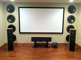 home theater in basement home theater ideas archives visual apex home theater projector
