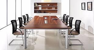 Executive Meeting Table Mdf With Rosewood Veneer Tabletop Executive Wood Meeting Room