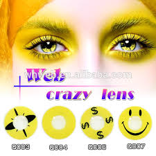 list manufacturers of yellow contact lenses buy yellow contact