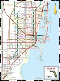 North Florida Map by Miami Map Map Of Miami Fl Florida Usa