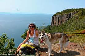 Giant Map Hiking Sleeping Giant Prov Park Great Lakes Drive