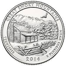 Tennessee national parks images Smoky mountains national park quarter jpg