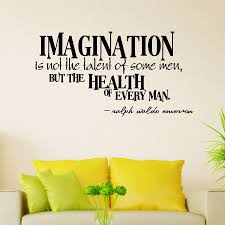 imagination wall art decal imagination wall quote decal