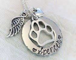 personalized memorial necklace pet memorial jewelry gallery of jewelry