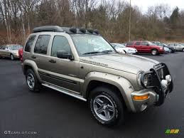 2004 light khaki metallic jeep liberty renegade 4x4 46776481