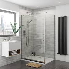 Easy Clean Shower Doors Mode Premium 8mm Easy Clean Left Handed Shower Enclosure