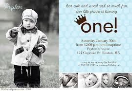 prince 1st birthday invitations iidaemilia com