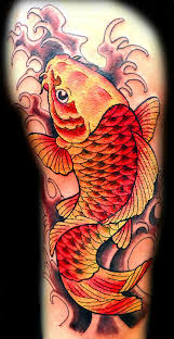 koi tattoo com japanese koi fish tattoo in color by jenny forth at pirate tattoo