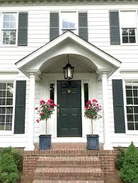 Colonial Style Windows Inspiration Best 25 Colonial Front Door Ideas On Pinterest Chevy Chase