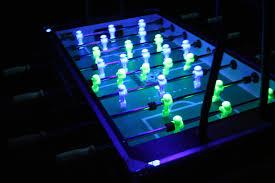 black light foosball table goal everything foosball black light foosball table