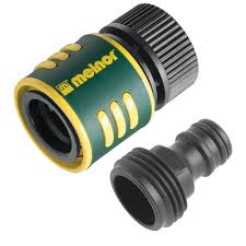 melnor 2 piece hose connector kit 11mqc the home depot