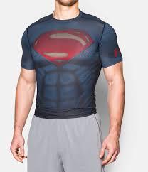 men u0027s armour alter ego superman compression shirt