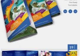 summer camp brochure template free download free kids summer camp