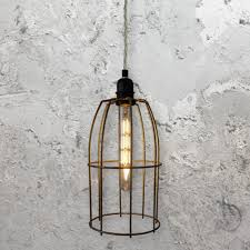 wire cage pendant light wire cage pendant light clb 00519 e2 contract lighting uk