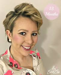 short hairstyle preparing for chemo chemo regrowth how to style your short hair my cancer chic