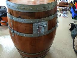 my wine barrel smoker
