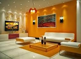 Best Rumah Minimalis Images On Pinterest Architecture - Orange living room design