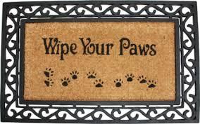 Wipe Your Paws Coir Doormat Top 10 Door Mats Of 2017 Review