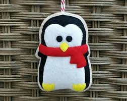Felt Penguin Christmas Ornament Patterns - felt penguin christmas penguin ornament christmas ornament