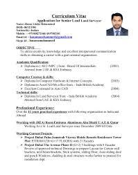 sle resume format in word gallery of resume format for land surveyor resume format survey