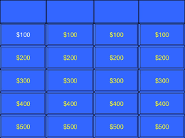 jeopardy game template 3rd grade math jeopardy game about