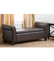 Leather Storage Bench Seat Bench Leather Storage Benches Storage Bench Seat For Bedroom