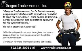 example flyers for recruiting women to trades apprenticeships