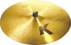 zildjian k light flat ride 20 amazon com zildjian k 22 light ride cymbal musical instruments