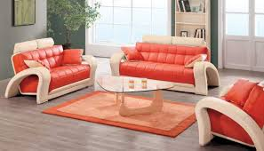 Things You Need To Know About Contemporary Living Room - Orange living room set