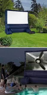 grandma agnes u0027 attic outdoor movie screen in your own backyard