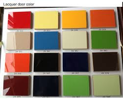 bright color high gloss lacquer finish kitchen cabinet frosted