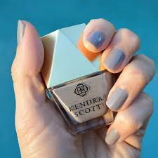 kendra scott slate grey nail polish review bay area fashionista