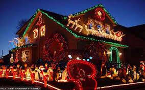 christmas christmas lighted deer yard decorations outdoor