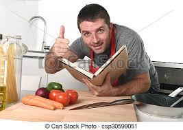 cuisine apprentissage tablier lecture recette livre apprentissage images de