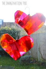 wire coat hanger heart sun catchers the imagination tree
