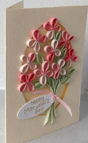 paper daisy cards quilled mother u0027s day card card ideas