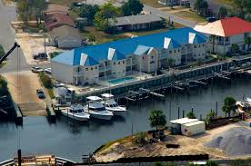 blue water inn and marina in mexico beach fl united states