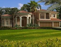Mediterranean Homes Plans Blog Weber Design Group Naples Architect Clipgoo Luxury